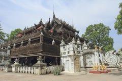 Tempel Shwenandaw Kyaung lizenzfreie stockbilder