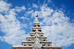 Tempel-Silber stockfoto