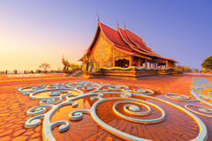 Tempel Sirindhorn-wararam Lizenzfreie Stockbilder