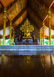 Tempel Sirindhorn Wararam artistieke Phuproud, Thailand, openbare pl Stock Fotografie