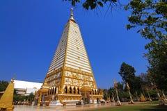 Tempel som är buddistiska i Thailand Arkivfoto