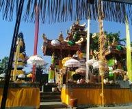 Tempel som melanting i bali royaltyfri foto