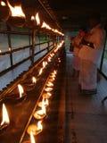 Tempel Sri Lankan stockbild