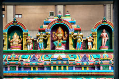 Tempel Sri Mahamariamman, Kuala Lumpur Stockbild