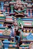 Tempel Sri Mariamman a Bangkok; La Tailandia Fotografie Stock Libere da Diritti