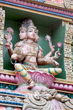 Tempel Sri Mariamman a Bangkok; La Tailandia Fotografia Stock
