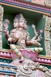 Tempel Sri Mariamman en Bangkok; Tailandia Foto de archivo