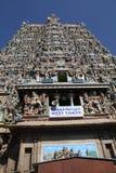 Tempel Sri Meenakshi Amman Stockfotografie