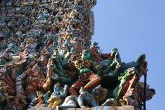Tempel Sri Meenakshi Amman Lizenzfreies Stockfoto