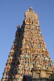 Tempel Sri Meenakshi Amman Stockfotos