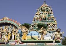 Tempel Sri Murugan nahe Hampi, Indien lizenzfreie stockfotos