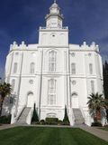 Tempel St George LDS Lizenzfreie Stockfotos