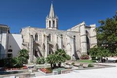 Tempel-St. Kriegs-Avignon Stockfoto