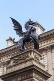 Tempel-Stangen-Monument, London Stockfotografie