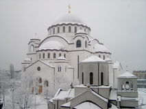 Tempel Str.-Sava Lizenzfreie Stockbilder