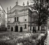 Tempel synagoga, Krakow Fotografia Royalty Free