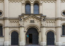 Tempel-Synagoge Lizenzfreies Stockbild