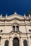 Tempel-Synagoge im Bezirk von Krakau-kazimierz in Polen auf miodowa Straße Stockfoto
