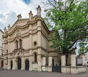 Tempel Synagogue, Krakow Stock Images