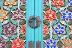 Tempel-Tür lizenzfreies stockbild