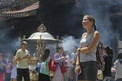 Tempel in Taiwan Lizenzfreies Stockbild