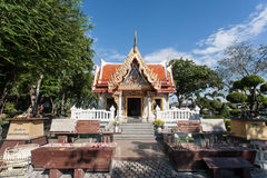Tempel in Tak Provice, Thailand Stockbild
