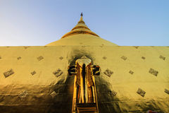 Tempel, thailändischer Tempel, Wat Pra Singh, Chiang Mai, Thailand, Lizenzfreie Stockfotografie