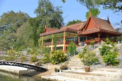 Tempel in Thailand stock afbeelding