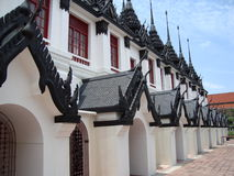 tempel thailand Royaltyfria Bilder