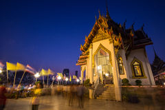 Tempel in Thailand. Stockfoto
