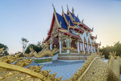 Tempel in Thailand Stockbild