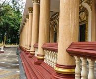 Tempel Thailand i Ubonratchatani Royaltyfri Bild