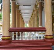 Tempel Thailand i Ubonratchatani Royaltyfri Fotografi