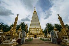 Tempel Thailand in Ubonratchatani Royalty-vrije Stock Fotografie