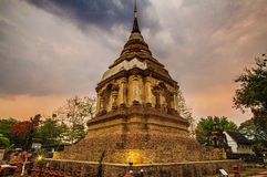 Tempel, Thaise Tempel, Wat Pra Singh, Chiang-MAI, Thailand, royalty-vrije stock foto's