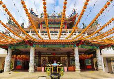 Tempel Thean Hou bei Kuala Lumpur Malaysia Stockfotografie