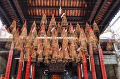 Tempel Thein Hau in Vietnam stock fotografie