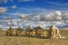 tempel tibet Royaltyfria Foton