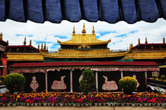 Tempel, Tibet Stockfotos