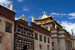 tempel tibet Fotografering för Bildbyråer