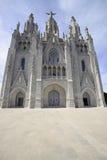 Tempel Tibidabo, Barcelona Stockfotos
