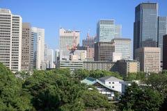 Tempel in Tokyo stock foto
