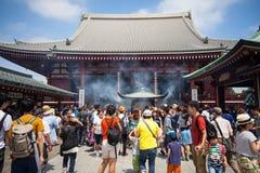 tempel tokyo för senso för asakusajapan ji Royaltyfri Foto