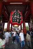 tempel tokyo för senso för asakusajapan ji Arkivfoton