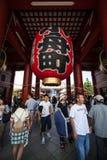 tempel tokyo för senso för asakusajapan ji Arkivbilder