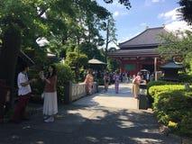 Tempel in Tokyo Japan Royalty-vrije Stock Afbeelding