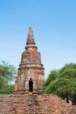Tempel u. Chedi in Ayutthaya, ungesehen von Thailand Lizenzfreie Stockbilder