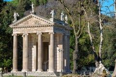 Tempel van Aesculapius Royalty-vrije Stock Afbeeldingen