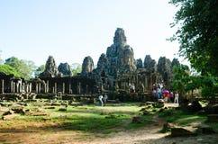 Tempel 2 van Angkorthom Royalty-vrije Stock Fotografie