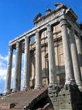 Tempel van Antoninus stock foto